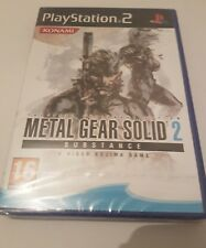 Metal Gear Solid 2 SUBSTANCE para Ps2 en español NUEVO Y SELLADO