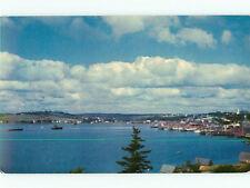 Vintage Post Card Luenburg Nova Scotia Halifax Beach Port Lake # 3862