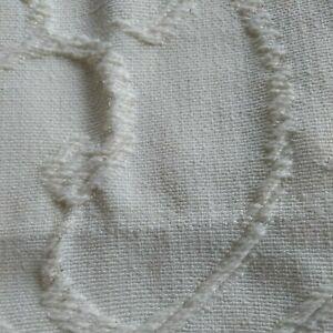 "1 Dorma Heavy Cotton Curtain 62""W X 89""L Raised pattern(?Door Curtain) Washable"