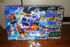 1997 Voltron Die-Cast  Metal WEP Item No. 30994 With Gold plated weapons