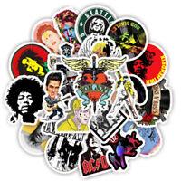 50 Rock Metal Musik Biker Motorrad Stickerbomb Aufkleber Sticker Mix Decals