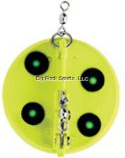 "NEW Luhr Jensen Dipsy Diver 3-1/4"" Chartreuse/Green UV 5560-000-1601"