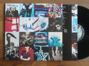 MINT LP U2 ACHTUNG BABY UNCENSORED SLEEVE REISSUE + INSERT REEDITION