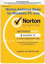 Norton Antivirus Basic 2017 OEM 1 Device 1 Year