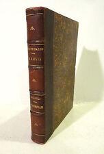 VIAGGI Antropologia - White Baker : Ismailia + Giglioli : I Tasmaniani - 1874