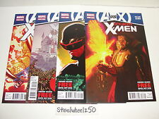 Uncanny X-Men 4 Comic Lot Marvel 2012 #13 14 15 16 Avengers Vs AvX Gillen Acuna