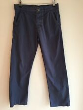 Kangol Age 13 Boys Navy Blue Trousers, Button fly,