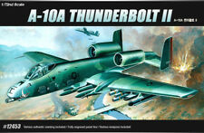 ACADEMY #12453 1/72 Plastic Model Kit USAF A-10A Thunder Bolt 2