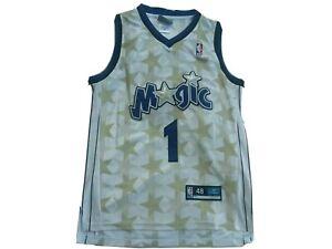 Tracy Mcgrady Reebok Gold Stars Orlando Magic Home Jersey men's  Size 48