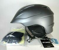 Giro Seam Snow Sports Helmet Adult Size L Matte Pewter Ski Snowboard