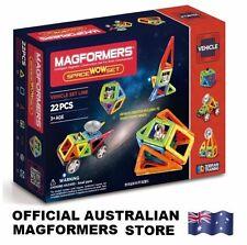 Genuine MAGFORMERS Space WOW Set 22 pcs - 3D Magnetic construction buildings