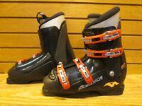Kids Youth Jr's Nordica GP TJ Used Ski Boots 26.5 Mondo - Lot BC14