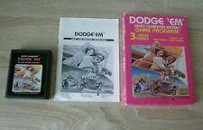 Dodge 'em (complete) - Atari 2600