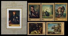 RUSSIA. Painting from the Hermitage. 1972 Scott 4001-4005. MNH (BI#MKA)