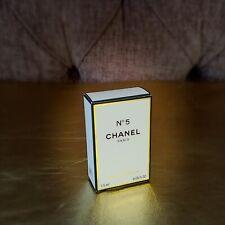 Vintage Rare Chanel No.5 Perfume Parfum EDP Mini 1.5ml Classic scent new