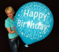 "1 x CATTEX 35"" Riesenluftballon HAPPY BIRTHDAY *GEBURTSTAG*FIREWORKS* (Ø 90cm)"