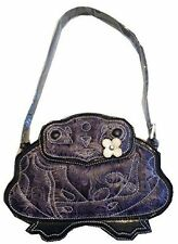 Designer Brentano Frog Bag Purse Handbag Collectible Purple New