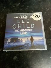 Lee Child The Midnight Line Jack Reacher 22 New Audio CD Book New Sealed