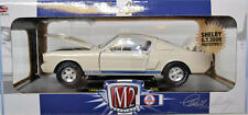 1965 Shelby GT350R Prototype White, Mustang 4.7 1/24 scale M2