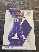 LeBron James 2019-20 Panini Mosaic Base #8 Los Angeles Lakers NBA Finals🔥🔥