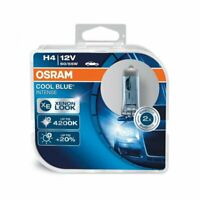 H4 Osram COOL BLUE INTENSE Headlight Globes (TWIN SET) 4200K 64193CBI-HBC