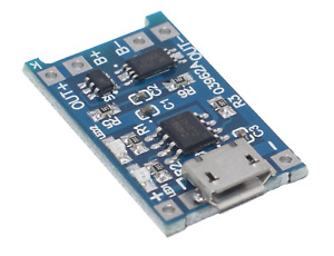 18650 5V 1A micro USB Lademodul für LiPo, Batterie, Akku