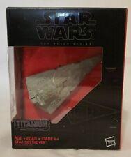 Star Wars Black Series Titanium #24 Star Destroyer Vehicle New in Sealed Box