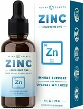 Organic Zinc Sulfate Liquid Supplement - Immune Support System Boost - Pure Ioni