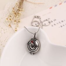 The Vampire Diaries Elena's Vervain Antique Vintage Locket Necklace