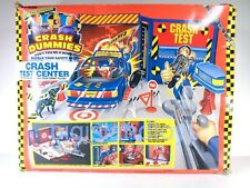 Crash Test Dummies Tyco 1991 Crash Test Center Action Figure Playset Complete