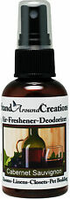 Premium Concentrated Air Freshener 2oz Scent: Cabernet Sauvignon Room Spray