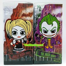DC x Hot Toys BATMAN Arkham Knight Cosbaby ( HARLEY QUINN & JOKER ) [ In Stock ]