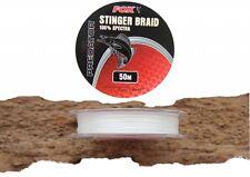 (0,18€/1m) Fox Rage Stinger Braid 50m für Angsthaken / Zusatzdrilling Gummifisch