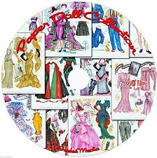Paper Doll Collection CD 1000's of Pages Including 39 Years McCall Paper Dolls