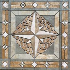"32 x 32"" Tile Medallion - American Olean Kendal Slate tile series"