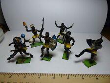 Original Cherilea Toys African Native Figures