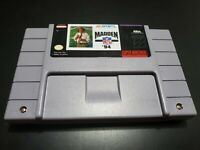 Madden NFL 94 (Super Nintendo Entertainment System, 1993) AUTHENTIC! TESTED!