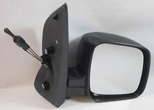 para FIAT QUBO Furgoneta 2008- > Cable Espejo Lateral Negra Lado Del Conductor
