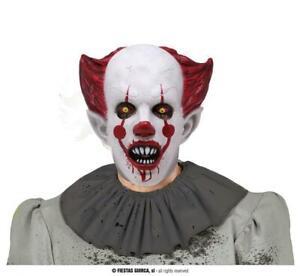Maschera clown assassino pagliaccio Penny in lattice