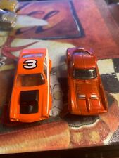 ho slot cars 1970-now body only vega & corvette modified orange see pictures
