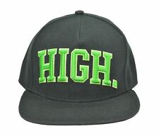 AUTHENTIC OFWGKTA 'HIGH' MEN'S SNAPBACK HAT 3D EMBROIDERY BLACK ONE SIZE MSRP40