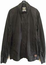 G-STAR Raw Jacket DUTTON Cargo Overshirt Sz XXL Black Mens 83101B 4442