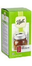 Lot of 288 Ball 30000 Regular Mouth Canning Jar Lids and Rings 24 Boxes of 12