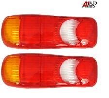 Fits Daf Lf45 Lf55 Rear Tail Light Eclipse Teardrop 2x Lens Lh & Rh Pair