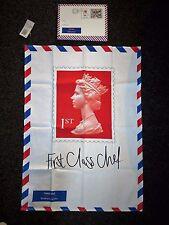 Brand NEW PRIMA CLASSE FRANCOBOLLO Asciugamani da Gift Republic Royal Mail in confezione regalo