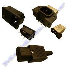 Red IEC macho/hembra conector/Filtro EMI del módulo de entrada/de Fusibles/Interruptor