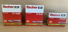 Fischer Universaldübel FU 6/35 8/50 - Dübel für fast alle Baustoffe