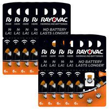 kQ 60x RAYOVAC Hörgerätebatterie Zink - Luft Batterie Typ 13 1.45V Blister