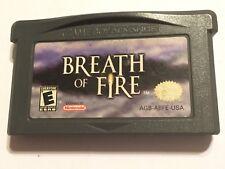 NINTENDO GAME BOY ADVANCE SP DS Micro cartucho de juego Breath of Fire