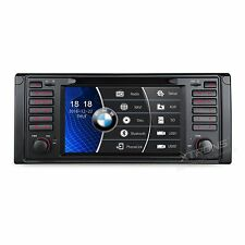 "AUTORADIO 7"" con Interfaccia Originale BMW Serie 5 E53 E39 X5 520 530 D GPS DVD"